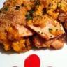 Parmentier de poulet rôti aux patates douces