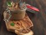 Pâté de lapin au cognac (stérilisation en bocaux)