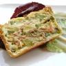 Pâté en croûte saumon courgettes
