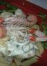 Pâtes aux fruits de mer et basilic