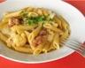 Pâtes aux saucisses de poulet et au chou-fleur faciles