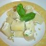 Pâtes farcies chévre ricotta et basilic