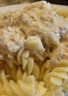 Pâtes sauce thon au fromage ail et fines herbes