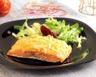 Pavé de saumon en croûte d'amandes