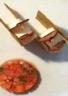 Petit délire pâte filo mousse chocolat blanc & fraises