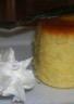 Petit flan d�??ananas à la vapeur et sa chantilly au Malibu