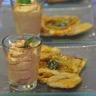 Petites tartes fines au Livarot et sa chantilly de Ketchup hot Amora