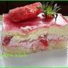 Petits bavarois fraises et chocolat blanc