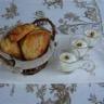 Petits chaussons aux pommes et confiture de lait verrines de fromage blanc au miel et noix
