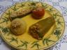 Petits légumes farcis en cocotte