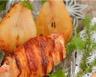 Pintade farcie aux poires et aux baies