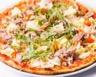 Pizza au thon chèvre et asperges facile