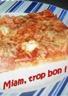 Pizza au thon et jambon