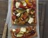 Pizza aux légumes grillés Carré Frais Olives-Touche de Citron et Amandes