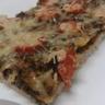 Pizza épinards et tomates cerises