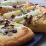Pizza Healthy aux Asperges des Sables des Landes IGP et à la patate douce