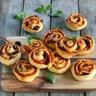 Pizza-rolls au pesto rustico tomates séchées