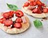 Pizza salée-sucrée au jambon et fromage