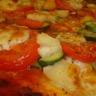 Pizza végétarienne rapide