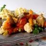 Poêlée d'artichauts et de mini légumes croquants
