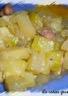 Poêlée de courgettes champignons pommes de terre
