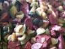 Poêlée de courgettes et foies de volaille