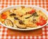 Poêlée de courgettes tomates et fromage de chèvre