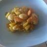 Poêlée de noix de Saint Jacques pommes poivrons