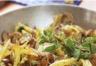 Poêlée de pommes de terre aux champignons