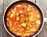 Poêlée de pommes de terre thon à la tomate