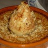 Poires rôties à la crème d'amande