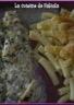 Poisson au vin blanc et gratin de pâte