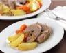 Poitrines de veau aux carottes et pommes de terre