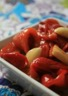 Poivrons rouges rôtis et marinés