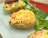Pomme de terre au four et saumon