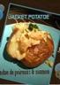 Pomme de terre au four saumon & fondue de poireaux