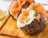 Pommes de terre au four au saumon