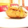 Pommes de terre farcies aux dés de poulet