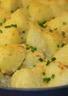 Pommes de terre gratinées au beaufort et ciboulette