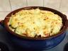 Pommes de terre gratinées mozzarella gruyère