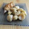 Pommes de terre navets poulet roti