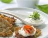 Pommes de terre râpées au saumon