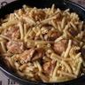 Porc en ragoût aux macaronis