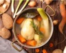 Pot-au-feu au poulet pommes de terre et légumes