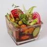 Potage Ariaké glacé aux légumes croquants citronnelle gingembre