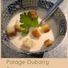 Potage Dubarry ou crème de chou-fleur