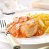 Poulet à l'italienne sauce tomate au Philadelphia et pennes