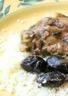 Poulet au citron confit et aux olives greques