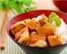 Poulet au curry et légumes accompagné de riz