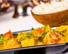 Poulet au curry lait de coco et ses légumes